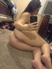 Lovely amatur women taking nude selfies..