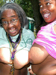 Weird black grannies nude pictures