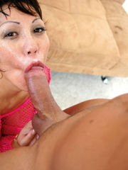 Ava Devine gives rimjob and gonzo..