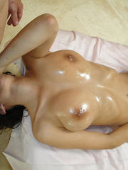 April Oniel oiled, groped and humped