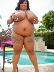 Super-cute black Plumper with ample..