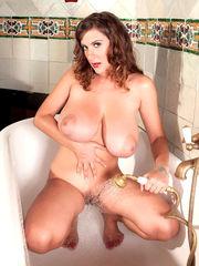 Gorgeous mature Valory Irene poses her..