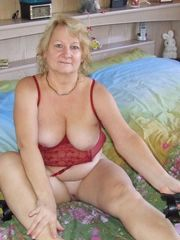 Highly  and naked grandmothers