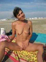 My naturist wife on the clariss beach