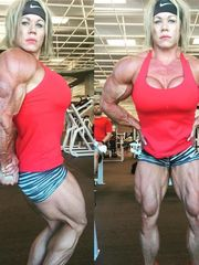 Aleesha Young Beauty Muscle