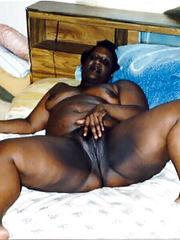 Nude black mature tits, molten black..