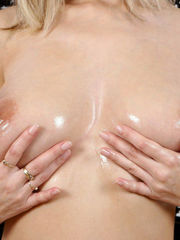 Big breasts blond tempter from ddfnetwork