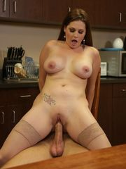 Allison Moore - Huge-boobed Office..