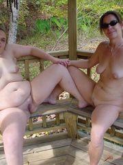 Older teenage naturist together - Young..