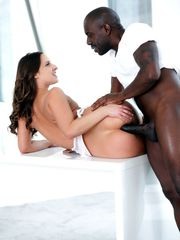 Milky damsel Amirah heads atm with her..