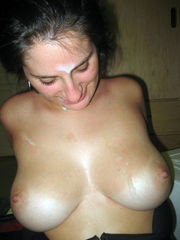 Spunk loving bombshell with big honkers..