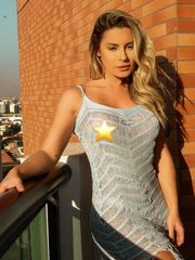 Aricia Silva nua de quatro sem roupas..