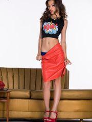 Alex De La Flor undresses and stretches..