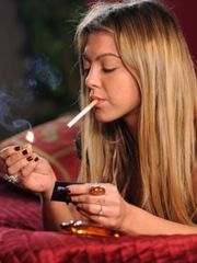Teen smoking smoking virgin - Teen -..
