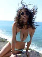 Marvelous pornographic star April..