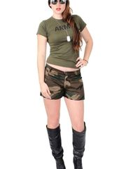 Magnificent Army Chick Costume Military..