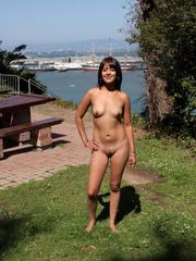 Magnificent young ladies ambling naked..