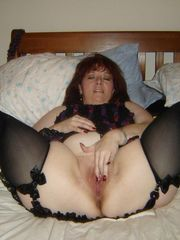 Mature Pussies and dark-hued