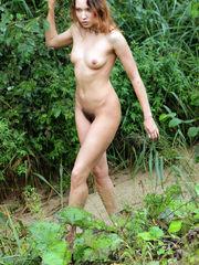 Fur covered cunt Russian girl posing..
