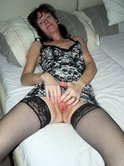 Twelve sexy mature gals in tights..