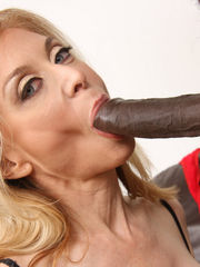Milf Nina Hartley romps bj's off damsel..