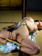 Chisa Kirishima Subdued Restrain..