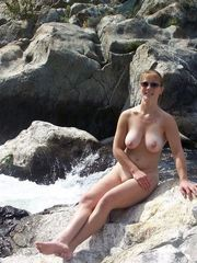 River and boobies - fully nude dolls in..