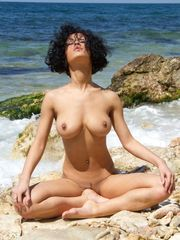 Pammie nude beach yoga -  of the Day -..