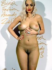 Rita Ora Naked Bod Fat Bumpers Faux 001..