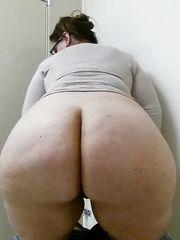 Cool white plus-size ssbbw big thighs..