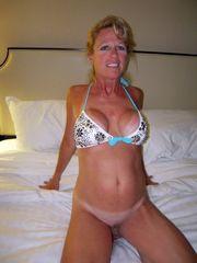 Mature women homebodies posing,..