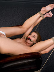 Bound Ball-gagged Open for Biz 06..
