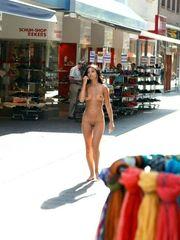 Beautiful young gal Nika ambling bare..