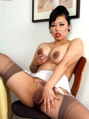 Asian mature assistant Tigerr gets..