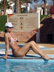 My wifey lovin her vacation time. See..