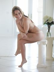Pliable Lilly Ford gets nude while..