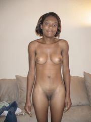 Unexperienced school black coed naked -..