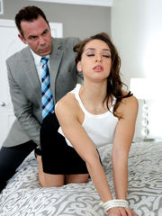up Latina gets predominated by her..