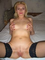 Real blonde wife dildos - Other