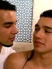 Two damsel faggot arab fellows make..