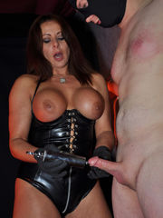 Dominatrix Makes Sub Marionette Inhale..