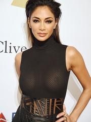 Nicole Scherzinger Heads Stripped to..