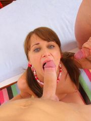 Dual Teamed Teens, Savors when licking..