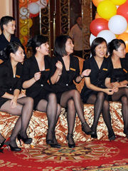 China -Candid- soles gams stocking -..