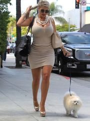 SOPHIA VEGAS Out for Lunch in Beverly..