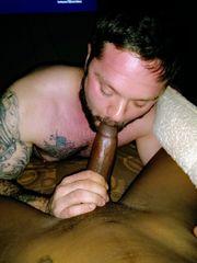 Boy Deepthroating dark-hued pink cigar..