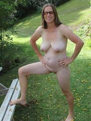 grandmother bare without clothes