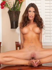 August ames butterfly stocking bare..