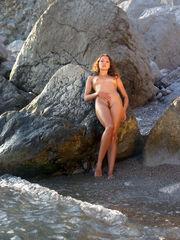 Crimean naturist beach and sexy long..