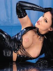 Sexy pornography starlet Aletta Ocean..